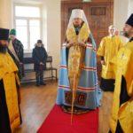 В канун престольного праздника митрополит Владимир совершил всенощное бдение в Марфо-Мариинском монастыре